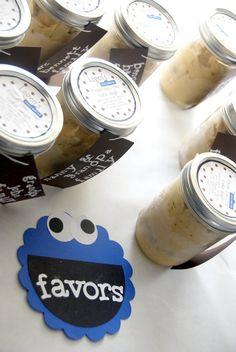 frozen cookie dough for party favors