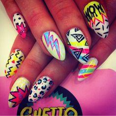 90's nails