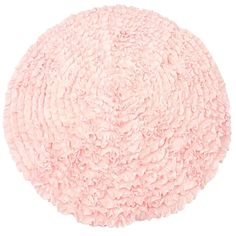 Light Pink Ruffles - Nursery Rugs