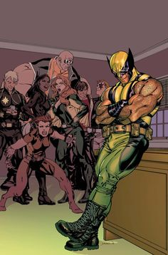 Wolverine and X-Factor Investigations; Longshot, Wolfsbane, M, Siryn, Rictor, Shatterstar and Strong Guy.