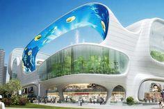 iluminaçao fachada shopping - Pesquisa Google