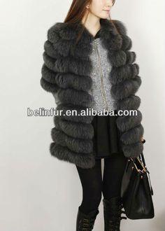 russia ,woman long style, fox fur coat K016