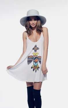 BLAZING SUN - SLIP DRESS at Wildfox Couture