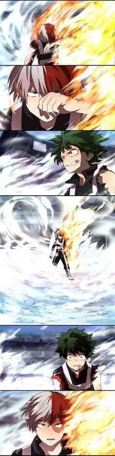 Boku no Hero Academia || Todoroki Shouto, Midoriya Izuku, #mha