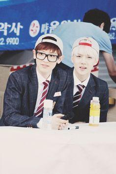 Chanyeol + Sehun ♥♥♥