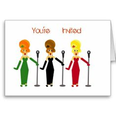 Karaoke Party Invitations Cards