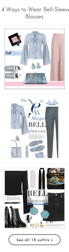 """""""14 Ways to Wear Bell-Sleeve Blouses"""" by polyvore-editorial ❤ liked on Polyvore featuring waystowear, bellsleeveblouses, Chiara Ferragni, Zimmermann, Jil Sander, Bobbi Brown Cosmetics, Related, MAC Cosmetics, Judy Geib and Michael Kors"""