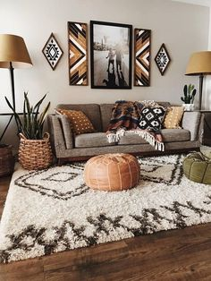 Bohemian Living, Boho Living Room, Small Living Rooms, Living Room Designs, Modern Living, Bohemian Style, Bohemian House, Bedroom Designs, Bohemian Bag