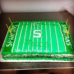 Michigan state university cake