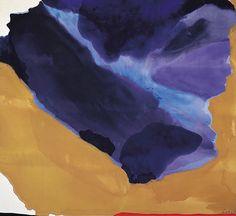 helen frankenthaler | Helen Frankenthaler. « THE VELVET FANTASTIC.
