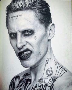 """""""Damaged"""" Jered Leto Joker"""