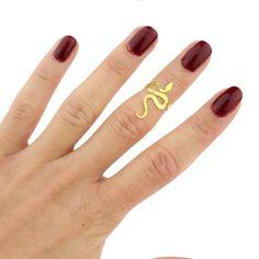 Mini snake ring by AmeliaMaysjewelery on Etsy, $19.00