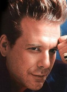 Mickey Rourke - he was drop dead handsome back in the day.