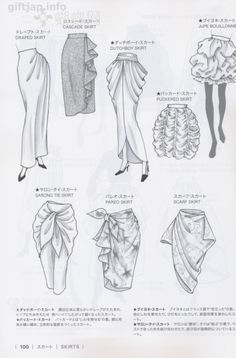 Japanese book and handicrafts - Guid to Fashion Design by bunka fashion coollege Fashion Design Books, Fashion Design Sketchbook, Fashion Design Drawings, Fashion Sketches, Fashion Drawing Dresses, Fashion Illustration Dresses, Fashion Figure Drawing, Dress Design Drawing, Dress Design Sketches