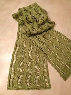 Ravelry: Project Gallery for Lace Ribbon Scarf pattern by Veronik Avery This is nice too.