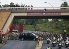 Gallery: Mandela lying in state Pretoria, Nelson Mandela, South Africa, News, Gallery, Building, Roof Rack, Buildings, Construction