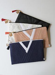 한복을 모티브로 한 캐주얼 브랜드 LEESLE 리슬 Korean Birthday, Korea Design, Korean Products, Modern Traditional, Pouch Bag, Fashion Bags, Diy And Crafts, Sewing Patterns, Coin Purse
