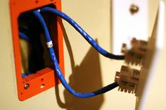How to wire a house for ethernet.