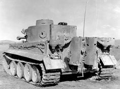 Panzerkampfwagen VI Tiger rear with door open #tanks #worldwar2