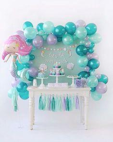 Amazing Mermaid Birthday Party DIY Ideas. Dessert Table. Who Doesnu0027t Love Mermaids?