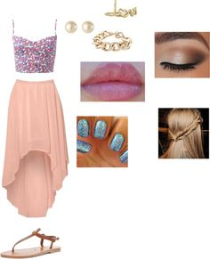 """summer outfit"" by hope-martens on Polyvore"