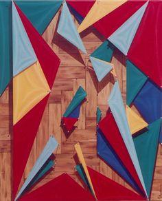 Mono y Poly, Reality Show Series, Acrylic on canvas / Acrílico sobre tela, 100 x 80 cm / 39,5 x 31,5 in, 2000, by Carlos Presto