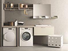 Qubo lavanderia composizione iperceramica small homes