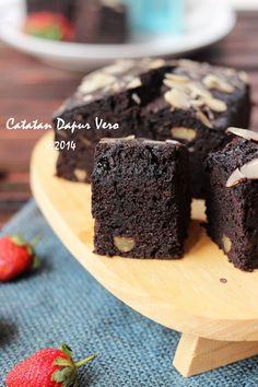 Cake Recipes, Snack Recipes, Dessert Recipes, Cooking Recipes, Snacks, Brownies Kukus, Resep Cake, Cake Games, Pumpkin Spice Cupcakes