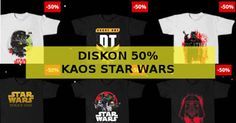 Harga diskon kaos Star Wars Rogue One di Tees.co.id