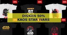 Harga diskon kaos Star Wars Rogue One di Tees.co.id