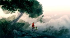 Let's just say it is OUR fish by Pascal Campion Dreamworks, Cartoon Network, Pascal Campion, Beautiful Sketches, Nickelodeon, Nature Plants, Heart Art, American Artists, Art Sketches