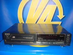 Modulo Reproductor CD SONY - Buen Estado modelo CDP-250 digital