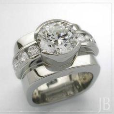 JB Jewellers - Home of Calgary's Finest Custom Jewellery - Diamond & Gemset Ring. - JB Jewellers – Home of Calgary's Finest Custom Jewellery – Diamond & Gemset Rings - Diamond Jewelry, Jewelry Rings, Jewelery, Silver Jewelry, Jewelry Accessories, Jewelry Design, Designer Jewellery, Diamond Rings, Solitaire Diamond