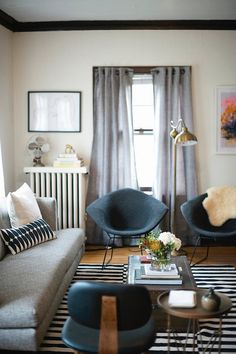 Wall Heater Covers That Camouflage Ugly Radiators | Apartment Therapy