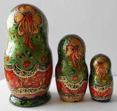 dolls nesting matryoshka handmade. by Artworkshop1, via Flickr