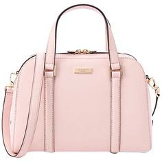 Pre-owned Kate Spade Small Felix Ballet Pink Cross Body Bag ($188) ❤ liked on Polyvore featuring bags, handbags, shoulder bags, ballet pink, kate spade shoulder bag, leather crossbody, kate spade crossbody, genuine leather handbags and leather crossbody purse