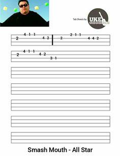 Ukulele Tabs Songs, Ukulele Fingerpicking Songs, Uke Tabs, Music Tabs, Guitar Songs, Guitar Chords, Acoustic, Ukulele Songs, Learning Music