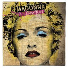 #madonna #celebration #starwars #princessleia #carriefisher #lastjedi #thelastjedi #music #movies #mashup #lp #record #vinyl