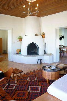 House Tour: A Modern Adobe Farmhouse Marfa Home House Design, Decor, House Interior, Southwestern Home Decor, House, Home, Southwest Home Decor, Arizona House, Home Decor