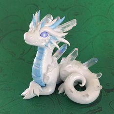 Ice dragon by Dragons&Beasties