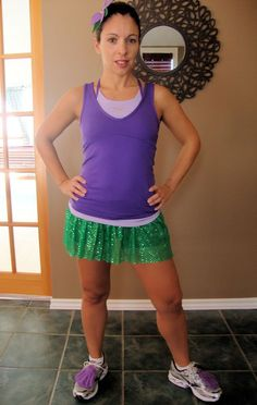Ariel running costume - love it!