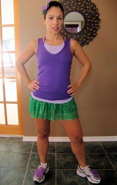 Ariel running costume - love it!