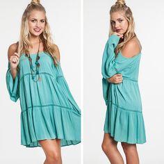 Boho Babe Dress - Mint - $39.50