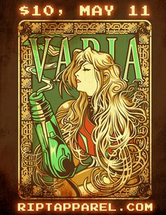Varia Inc at RIPTApparel by *ninjaink on deviantART