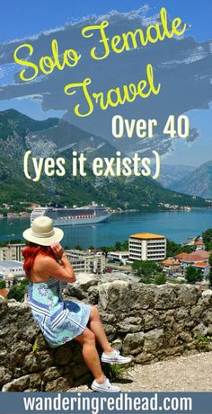I am 43 and a solo female traveler. Until recently, I thought I was the only one, but there are others! Solo female travel is much more common among millennials, since older generations, for the mo… Solo Travel Tips, Travel Advice, Travel Hacks, Travel Ideas, Travel Stuff, Travel Quotes, Travel Usa, Travel Europe, Mexico Travel