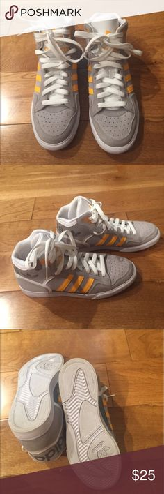 Barley worn adidas tennis shoes Adidas tennis shoes size 7.5 with no signs of wear adidas Shoes Sneakers