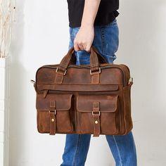Leather Portfolio Bag Folder, Personalised Gift, Monogram Gift for him, Laptop Case, Full Grain Leather Bag Leather Duffle Bag, Leather Laptop Bag, Leather Briefcase, Leather Portfolio, Leather Accessories, Men's Briefcases, Messenger Bag, Laptop Case, Backpack