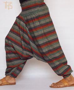 Mens Harem Pants Yoga Pants Hippie Pants Aladdin by TheHaremShop