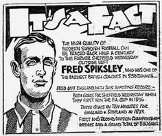 The forgotten story of … Fred Spiksley, wing wizard, film star and POW escapee Football Cards, Football Players, Laws Of The Game, Sheffield Wednesday, Association Football, Most Popular Sports, Everton Fc, Coach Me, Film