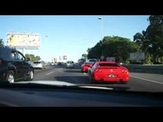 Ferrari 458, 355 y BMW M3 en Buenos Aires, Argentina.